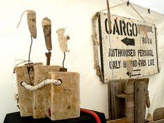 Paul Hérails skrot skulpturer. Læs mere på http://norubbish.dk/2014/05/paul-herail/