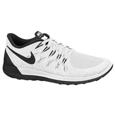 Nike Free 5.0 2014 - Women's - Running - Shoes - White/Black/Wolf Grey