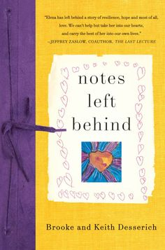 Notes Left Behind - such a powerful book.