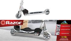 The best in Razor A Kick Scooter clear black for boys and girls Best Scooter, Kids Scooter, Kids Ride On Toys, 12 Year Old Boy, Old Boys, Scooters, Cool Kids, Favorite Color, Boy Or Girl
