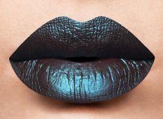 Lip shot of Catrina from the  Dia de Los Muertos Collection water proof liquid lipstick Coming Soon! #lasplashcosmetics