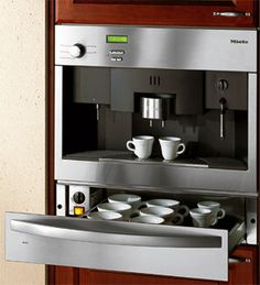 built in coffee systems | Miele Built-In Cup and Plate Warmer for Miele Coffee System | Latest ...