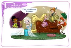 Pocket princess # 84 FROZEN!!!