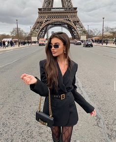 Boujee Outfits, Classy Outfits, Pretty Outfits, Fashion Outfits, Glamorous Outfits, Estilo Ivy, Elegantes Outfit Frau, Tumbrl Girls, Look Blazer