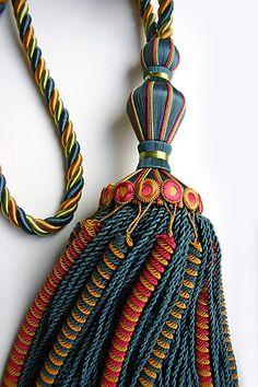 494 Best Curtain Tieback Amp Tassel Images Tassels Curtain Tie Backs Tassel Curtains