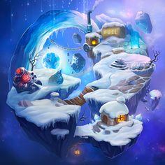 snow, digital, planet, stone, light, lamp, home, building,