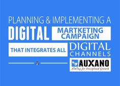 Planning & Implementing a Digital Martketing Campaign that integrates all Digital Channels