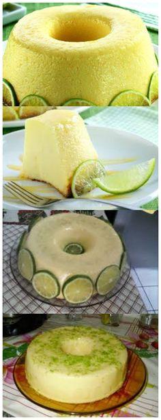 Pudim de limão chic 1 xícara (chá) de açúcar 1 lata de leite condensado 4 colheres (sopa) de suco de limão #receita#bolo#torta#mousse#pudim#aniversario#casamento#pave#confeitaria#chessecake#chocolate#natal#anonovo#blackfriday