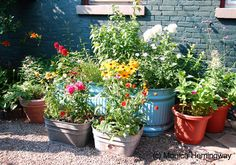 Mix it up with containers