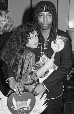 Teena Marie and Rick James