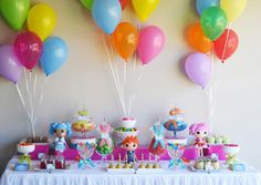 My daughter would love this Lalaloopsy party!