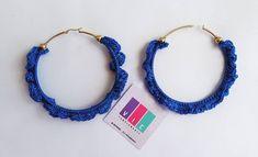 Maxi aros tejidos color azul rey.🔷️🔷️ Pidelos ⬇️⬇️@viccomplements . . . . . . . . . #accesorios #aretes #artesania #crochet #hechoamano… Color Azul, Crochet Earrings, Jewelry, Fashion, Tejidos, Stud Earrings, Hand Made, Accessories, Moda