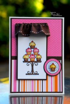 STAMPIN UP UK INDEPENDENT DEMONSTRATOR MONICA GALE: Crazy for cupcakes
