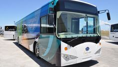 Sydney International Airport tests world's longest range electric bus