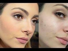 Como aplicar tu base de maquillaje para que no se vea grumosa - YouTube