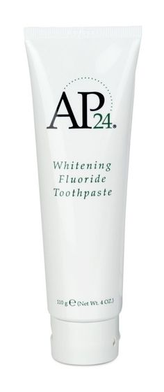 This whitening toothpaste features a special formula that contains no harmful peroxides, it brightens and whitens teeth while fighting plaque formation.