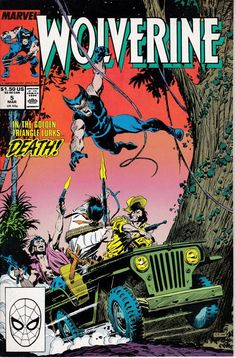 Wolverine 5 March 1989 Issue Marvel Comics Grade by ViewObscura
