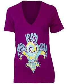 kappa-kappa-gamma-fleur-owl-v-neck-front