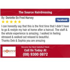 I can honestly say that this is the first time that I  didn't have to go & restyle my...