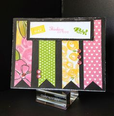 Show and Tell, with Michelle: National Stamping Month - #30yearsofhappy Blog Hop #PaperFundamentals #Whimsy #Brushed