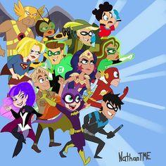 Dc Characters, Hero Academia Characters, The Warlocks, Girl Empowerment, Dc Super Hero Girls, Samurai Warrior, Bat Family, Demon Slayer, Nightwing