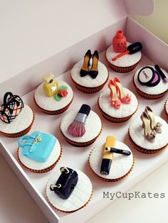 MakeUp Set, Perfume, Shoes & Bags Cupcakes                        Thank you for visiting MyCupKates.