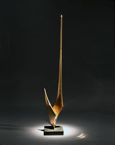 "Denis Mitchell (1912-1993) ""Porthcressa"", 1961/ Polished bronze on a slate base (Godson Coles)"