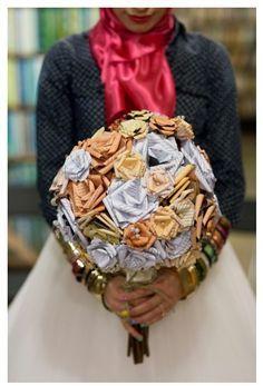 tahera mafi wedding boquet