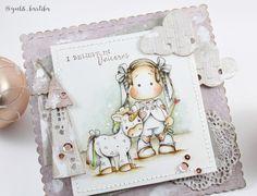 Magnolia DT Blog Hop | Believe in Unicorns