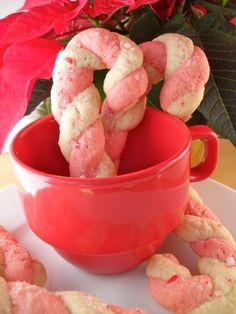 Candy Cane Cookies | #glutenfree #dairyfree