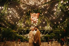Romantic fairy light inspiration at celebrity Yuna's Bohemian themed wedding solemnisation ceremony/ Wedding Henna, Malay Wedding, Wedding Flowers, Wedding News, Wedding Photos, Rainforest Theme, Turkish Wedding, Wedding Planning On A Budget, Wedding Movies
