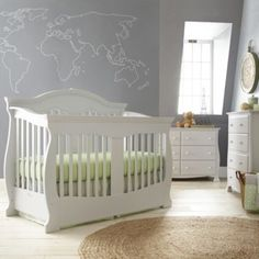 Savanna Grayson Baby Furniture Collection   Gray