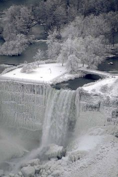 Niagara Falls in Winter | ... | all galleries >> Niagara Falls in winter…