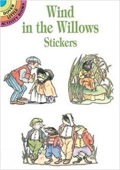 Wind in the Willows Stickers (Dover Little Activity Books Stickers): Thea Kliros: 9780486400914: Amazon.com: Books