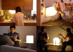Lumio LED Unfolding Book Lamp | jebiga | #lamp #book #design #productdesign #creative #jebiga