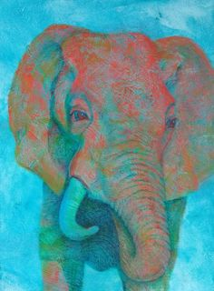 Contemporary wildlife artist Lisa Bohnwagner creates paintings of animals and writes about life to stir the soul & inspire stewardship for the world and oneself. Animal Paintings, Perspective, Lisa, Wildlife, Elephant, Colorful, Contemporary, Creative, Artist