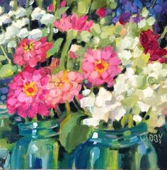 "Daily+Paintworks+-+""A+Cut+Above""+-+Original+Fine+Art+for+Sale+-+©+Libby+Anderson"