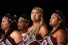 Maori Kapa Haka dancers, New Zealand