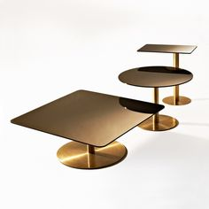 Tom Dixon - Flash tables available at Property Furniture. http://propertyfurniture.com/collection/coffee-side-tables/flash-coffee-side-table/