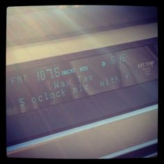 [September Photo a Day Challenge] 28: A Good Thing. Starting the weekend right with the 5 O'Clock #RollOut mix with @hiphopdetroit! #fmsphotoaday