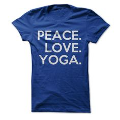 You know what's important in life. You know that peace, love and yoga are the things that keep you sane, safe and steady. The world would be a happier place if everyone agreed with you but that's not