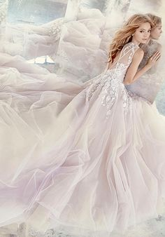 Hayley Paige 6604 Leah Wedding Dress photo