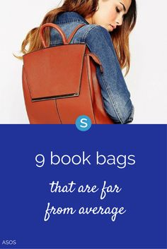 Looking for a stylish backpack or book bag for a new job or back to school? Check out these awesome styles and brands: http://simplemost.com/9-back-school-bags-far-average-book-bag?utm_campaign=social-account&utm_source=pinterest&utm_medium=organic&utm_content=pin-description