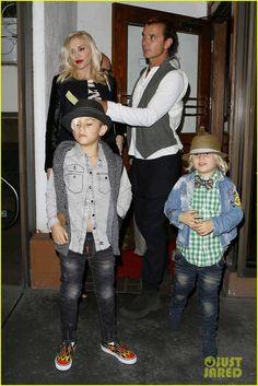 Gavin Rossdale Celebrates Birthday with Gwen Stefani & Kids!