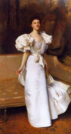 """John Singer Sargent (1856-1925),  Countess Clary Aldring 1896. Sargent was an American artist, considered the """"leading portrait painter of his generation""""."""