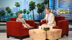 Ellen Meets the 'Apparently' Kid, Part 1