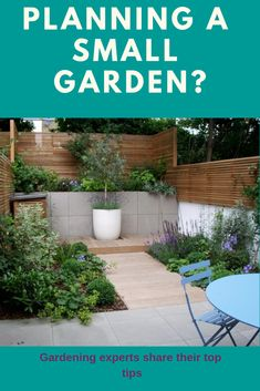 Gardening experts share their top tips on planning a small garden Plan A, How To Plan, Houzz, Home Improvement, University, Gardens, Patio, Outdoor Decor, Tips