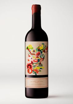 La vinya del vuit Wine - The Dieline: The World's #1 Package Design Website -
