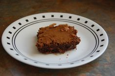 Whole-wheat Flour Brownies