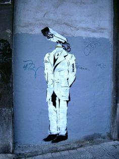 Street art in Spain by street artist Frágil.